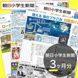 朝日小学生新聞3ヶ月分|朝日学生新聞社 PayPayモール店