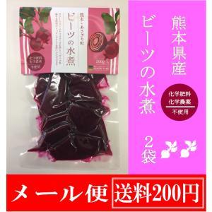ビーツ 野菜 水煮 レトルト 200gx2袋 クリックポスト便 送料200円込み 長期保管