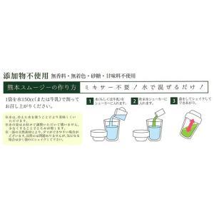 スムージー 野菜 くまもとスムージー マイルド レギュラーサイズ スティック14包x2 メール便 送料無料 asagiri-nouen 03