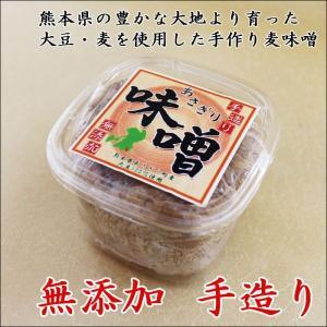 あさぎり味噌900g【無添加】【麦味噌】|asagiribussankan