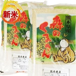 米 10kg    森のくまさん コメ こめ 米 熊本産