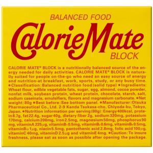 大塚製薬 カロリーメイト ブロックチョコレート 4本×30個|asahi-store-chiba