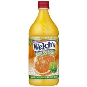 アサヒ飲料 Welch's(ウェルチ) オレンジ100 800g×8本|asahi-store-chiba