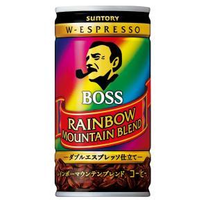 サントリー コーヒー ボス レインボーマウンテンブレンド 185g×30本|asahi-store-chiba
