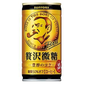 サントリー コーヒー ボス 贅沢微糖 185g×30本|asahi-store-chiba