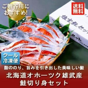 「送料無料 北海道 鮭 ギフト」 北海道 鮭 切り身 1.2kg 価格 6800円|asahikawajyogai