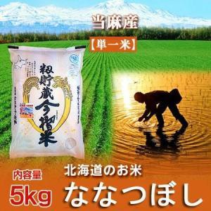「北海道 米 ギフト ななつぼし」 29年度産米 「米 ななつぼし 5kg」 北海道米 (当麻産米) 籾貯蔵 今摺米 ななつぼし米|asahikawajyogai