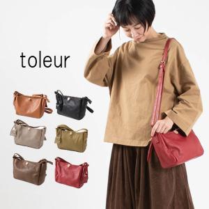 toleur ト−ラ カウレザーミニショルダーバッグ 11586 レザー 革 ショルダーバッグ 行楽 お出かけ プレゼント|asahiya-group-first