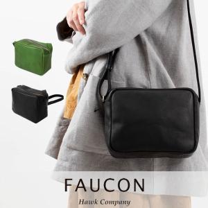 FAUCON / Hawk company スクエアショルダーバッグ 3257 ナチュラル服 40代 50代 大人コーデ 大人かわいい カジュアル シンプル ベーシック|asahiya-group-first