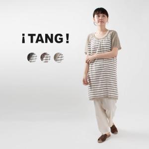 TANG [タング]切替切替チュニック 610002 ナチュラルファッション ナチュラル服 40代 50代 大人コーデ 大人かわいい カジュアル シンプル ベーシック|asahiya-group-first