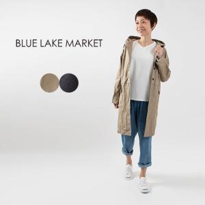 BLUE LAKE MARKET ラグランフーテッドコート B-427002 ナチュラル服 40代 50代 大人コーデ 大人かわいい カジュアル シンプル ベーシック|asahiya-group-first