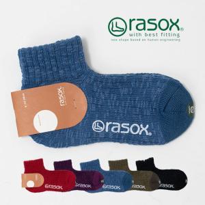 rasox ラソックスビッグスラブ・アンクル CA181AN02 靴下 レディース ナチュラルファッション ナチュラル服 40代 50代 大人コーデ カジュアル シンプル|asahiya-group-first