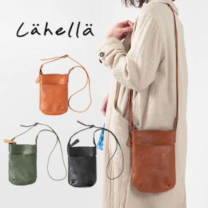 Lahella ミニショルダーバッグ L-185 レザーショルダー ミニバッグ 斜め掛け 小さいバッグ ナチュラルファッション 大人かわいい カジュアル シンプル|asahiya-group-first