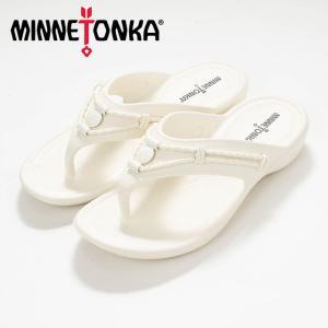 MINNETONKA ミネトンカ SILVERTHORNE PRISM White MTK-570100 サンダル ナチュラルファッション ナチュラル服 20代 30代 40代 50代 カジュアル シンプル asahiya-group-first
