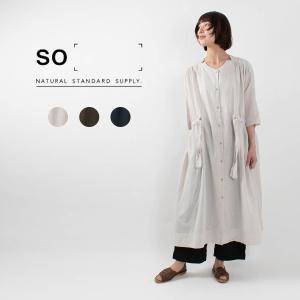 SO [エスオー]ドローストリングワンピース SA-0341 チュラルファッション ナチュラル服 40代 50代 大人コーデ 大人かわいい カジュアル シンプル|asahiya-group-first