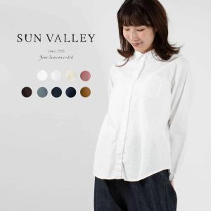 SUN VALLEY サンバレ−  オックス長袖シャツ 新入荷 新色 オールシーズン トップス 長袖...