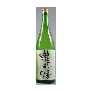 日本酒 瀧自慢 滝水流(たきじまんはやせ)辛口純米酒2016...