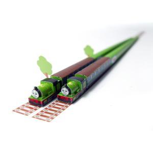 きかんしゃトーマスのお箸 パーシー 日本製 子供用お箸 ハシ鉄  ポイント消化