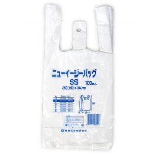 レジ袋 小サイズ ニューイージーバッグSS 1袋100枚入 ビニール袋 乳白色 ポイント消化