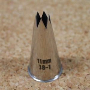 在庫一掃!★18-8口金 直6切11mm 38-1|asai-tool