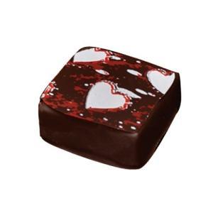 IBC チョコレート用転写シート ハート 1枚 【製菓材料】|asai-tool