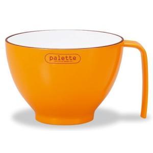 持手スープボウル S Palette オレンジ|asai-tool