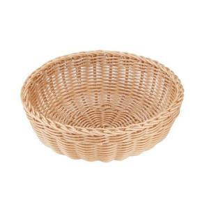洗えるバスケット サークルL ナチュラル|asai-tool