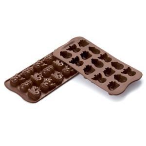 Silikomart(シリコマート) イージーチョコ チョコウィンター(15ヶ取)[SCG23] 【ooo】|asai-tool