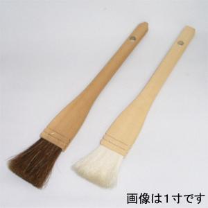 業務用製菓刷毛 1寸 並|asai-tool