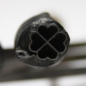 名匠手彫りのオリジナル焼印【クローバー】|asai-tool