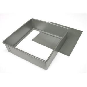 ベイクウェアー角型デコレーション底取 18cm|asai-tool