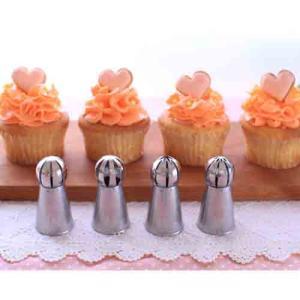 【セットでお得!】シームレス3Dボール口金 4点セット|asai-tool