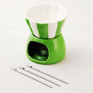 ★在庫処分★スイートキッチン デザートフォンデュ グリーン|asai-tool