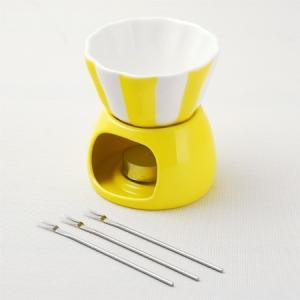 ★在庫処分★スイートキッチン デザートフォンデュ イエロー|asai-tool
