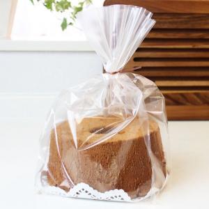 個包装袋 シフォンケーキ袋 10枚入 [XF8200]|asai-tool
