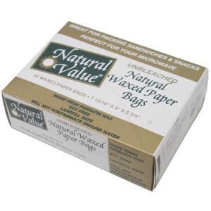 ナチュラルワックスペーパーバッグ NV8090|asai-tool