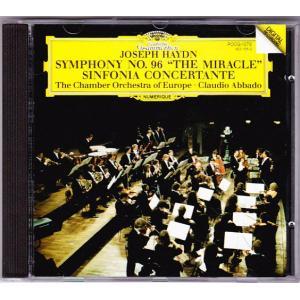 ハイドン 交響曲第96番 協奏交響曲 アバド指揮