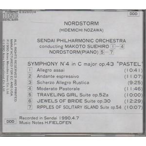 ノルドストーム(野沢秀通) 交響曲第4番「パステル」 他 /nzw-163 asakimusic 02