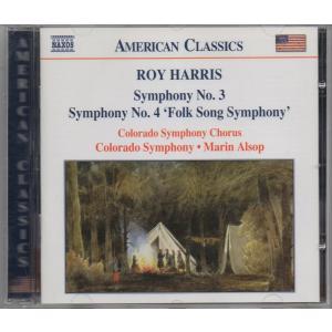 ハリス(1898-1979) 交響曲第3&4番 /ff-0012