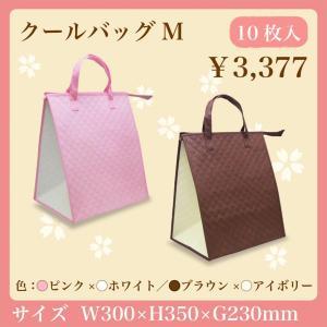 保冷バッグ クールバッグM 10枚入り 保温バッグ ケーキ箱5号用|asakura-ya