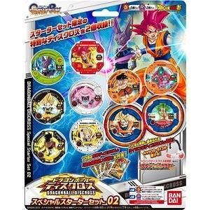 【新品】【TTOY】ドラゴンボールディスクロス スペシャルスターターセット02[お取寄せ品]|asakusa-mach