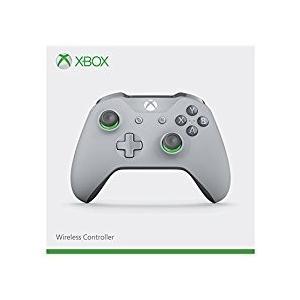 【新品】【XboxOneHD】Xbox One ワイヤレス コントローラー (グレー / グリーン)[お取寄せ品]|asakusa-mach