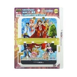 [宅配便限定]【新品】3DSLL用 ワンピース 15th ANNIVERSARY カスタムハードカバー ブルー|asakusa-mach
