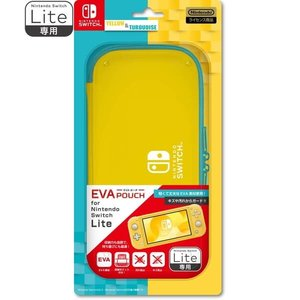 【09/20発売★予約】【新品】【NSHD】EVAポーチ for Nintendo Switch Lite YELLOW &TURQUOISE[予約品]|asakusa-mach