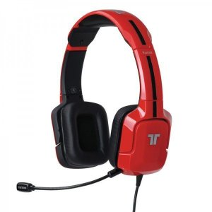 【即納可能】【新品】【PS3HD】TRITTON Kunai Stereo Headset Red  (PS4/PS3/PS Vita) [MAD CATZ]【国内正規流通版】【送料無料】|asakusa-mach