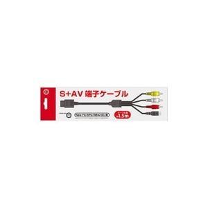 【新品】【SFCHD】SFC用 S端子付AVケーブル(1.5m)[お取寄せ品]|asakusa-mach