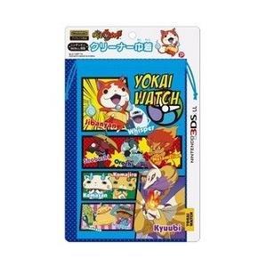 【新品】【プレックス】妖怪ウォッチ  NINTENDO 3DS LL対応 クリーナー巾着 ブルー[在...