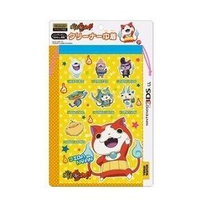【新品】【プレックス】妖怪ウォッチ  NINTENDO 3DS LL対応 クリーナー巾着イエロー [...