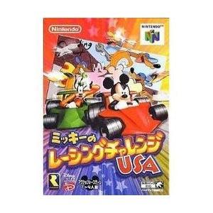 【新品】【N64】ミッキーのレーシングチャレンジUSA[お取寄せ品]|asakusa-mach