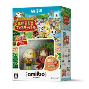 【新品】【WiiU】【限】どうぶつの森 amiiboフェスティバル ケント付き 限定版